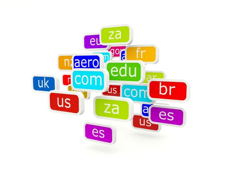 extensions de noms de domaines
