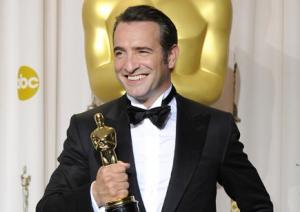 Jean Dujardin et son Oscar
