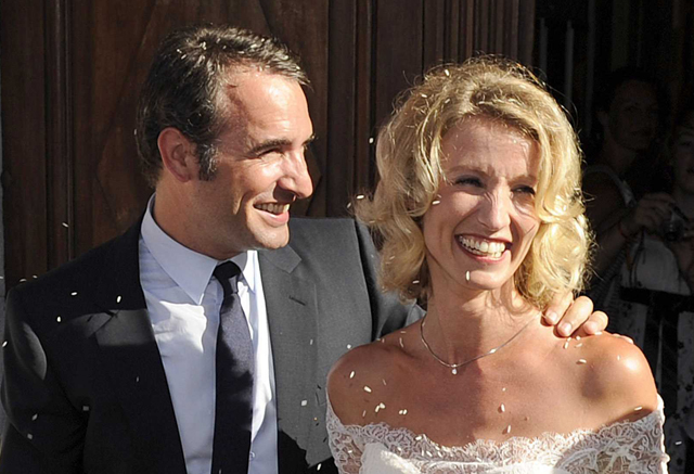 Mariage de Jean Dujardin et Alexandra Lamy