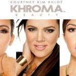 Publicité pour la marque Khroma des soeurs Kardashian