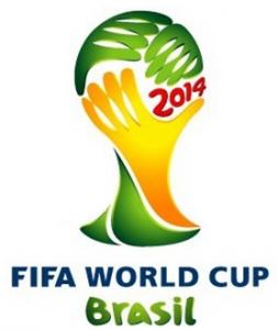 Emblème de la FIFA pour la coupe du monde de foot de 2014 au Brésil