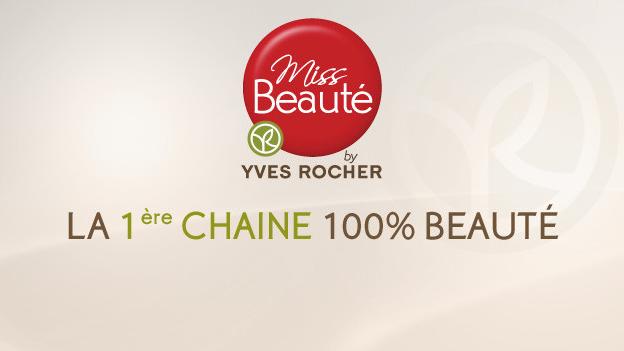 Présentation de la chaîne TV Miss beauté by Yves Rocher