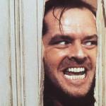 Jack Nicholson dans le film d'horreur Shining