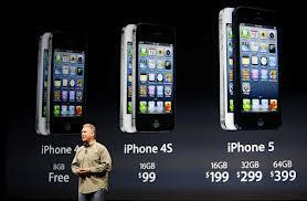 sortie de iphone5