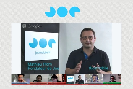 video lancement joe mobile