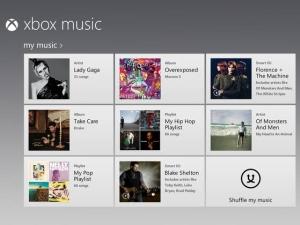 xbox music accueil